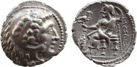 EASTERN EUROPE. Imitation of Alexander III 'the Great' of Macedon (3rd-2nd centuries BC). Tetradrachm. Obv: Head of Herakles right, wearing lion skin....