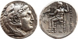 KINGS OF MACEDON. Alexander III the Great (336-323 BC). Tetradrachm. Posthumous issue of Amphipolis, under Cassander as regent (317-305 BC), ca. 317-3...