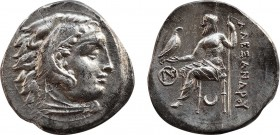 KINGS OF MACEDON. Antigonos I Monophthalmos. As Strategos of Asia ( 320-306/5 BC). AR Drachm. In the name and types of Alexander III of Macedon. Magne...