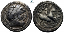 Eastern Europe. Imitation of Philip II of Macedon circa 300-200 BC. Tetradrachm AR