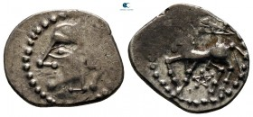 Central Gaul. Lemovices circa 100-60 BC. Quinarius AR