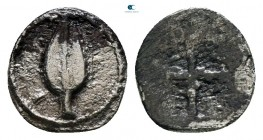 Kings of Macedon. Aigai. Alexander I circa 495-450 BC. Hemiobol AR