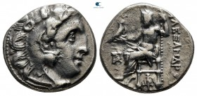 "Kings of Macedon. Magnesia ad Maeandrum. Alexander III ""the Great"" 336-323 BC. Struck under Antigonos I Monophthalmos, circa 319-305 BC. Drachm AR"