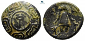 "Kings of Macedon. Sardeis. Alexander III ""the Great"" 336-323 BC. Half Unit Æ"