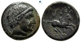 Kings of Macedon. Uncertain mint in Macedon. Philip III Arrhidaeus 323-317 BC. Unit Æ