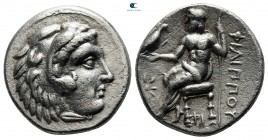 Kings of Macedon. Uncertain mint in Western Asia Minor. Philip III Arrhidaeus 323-317 BC. Drachm AR