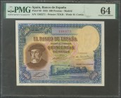 500 pesetas. January 7, 1935. Without series. (Edifil 2017: 365). UNC. PMG64 package.