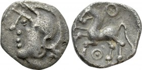 WESTERN EUROPE. Central Gaul. Aedui. Quinarius (1st century BC). 