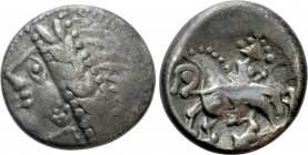"CENTRAL EUROPE. West Noricum. Tetradrachm (2nd/1st century BC). ""Tinco"" type. 