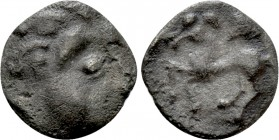 "EASTERN EUROPE. Imitations of Philip II of Macedon (2nd-1st centuries BC). ""Obol."" Mint in the region of Velem, Hungary. ""Kapostaler Kleingeld"" type. ..."
