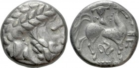 "EASTERN EUROPE. Imitations of Philip II of Macedon (3rd-2nd centuries BC). Tetradrachm. ""Triskeles"" type. 