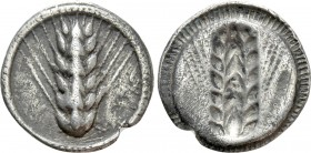 LUCANIA. Metapont. Drachm (Circa 540-510 BC). 