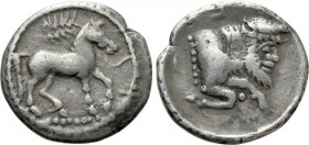 SICILY. Gela. Litra (Circa 465-450 BC). 