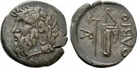 SKYTHIA. Olbia. Ae (Circa 330-320 BC). 
