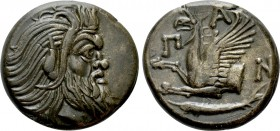 CIMMERIAN BOSPOROS. Pantikapaion. Ae (Circa 310-304/3 BC). 