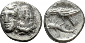 MOESIA. Istros. 1/4 Drachm (Late 5th-4th century BC). 