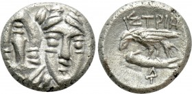 MOESIA. Istros. Trihemiobol or 1/4 Drachm (Circa 313-280 BC). 