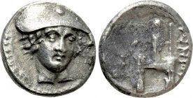 THRACE. Ainos. Drachm (Circa 357-342/1 BC). 