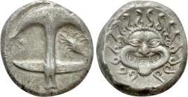 THRACE. Apollonia Pontika. Drachm (Circa 480/78-450 BC). 