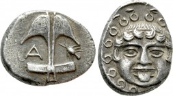 THRACE. Apollonia Pontika. Drachm (Circa 470-435 BC). 