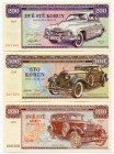 "Czechoslovakia Lot of 3 Banknotes 2019 - 2020 Specimen ""The Gold Collection""