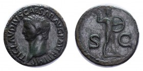 ROMAN EMPIRE. Claudius, 41-54. AE As, 9.82 g. Well centred, good very fine. Cohen 84