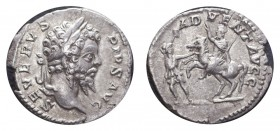 ROMAN EMPIRE. Septimus Severus, 193-211. AG Denarius, 2.76 g. Extremely fine, scarce issue. RIC.248 - BMC/RE.304