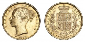 AUSTRALIA. Victoria, 1837-1901. Gold Sovereign 1879-S, Sydney. Shield. 7.99 g. Good very fine.