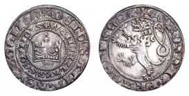 GERMANY: BOHEMIA. Wenzel II, 1278-1305. Prager groschen , 3.78 g. Extremely fine with pleasant old toning.