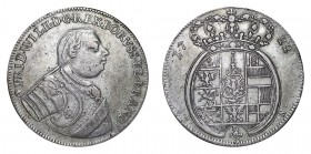 GERMANY: PRUSSIA. Friedrich Wilhelm I, 1713-40. 2/3 Taler 1722 L-IGN, Berlin. 17.19 g. Dav. 301; v. Schr. 253. The 'Soldier King'. Very rare type. Ver...