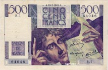 France [#129, VF] 500 francs Type 1945 Chateaubriand