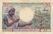 French Equatorial Africa [#31, VF+] 50 francs Type 1957