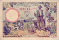 Algeria [#86, VF] 1000 francs Type 1940
