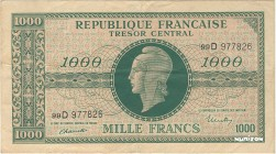 France [#107, VF] 1000 francs Marianne Type 1945