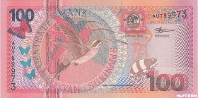 Suriname [#149, GEM] 100 gulden Type 2000