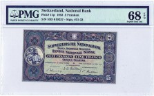Switzerland [#11, GEM] 5 francs Type 1913