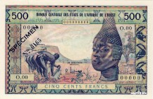West Africa States [#3, UNC] 500 francs Type 1959