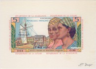 French Antilles [#7, GEM] 5 francs Type 1964