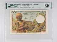 French Equatorial Africa [#34, VF+] 1000 francs Type 1957