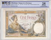 Martinique [#13, VF] 100 francs Type 1927