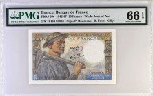 France [#99, GEM] 10 francs Type 1941 Mineur
