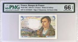 France [#98, GEM] 5 francs Type 1943 Berger