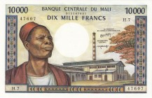Mali [#15, GEM] 10000 francs Type 1973