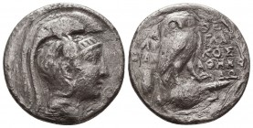 KINGDOM of MACEDON.Alexander III 'the Great',327-323 BC.AR Tetradrachm Condition: Very Fine  Weight: 14,86 gram Diameter: 29 mm