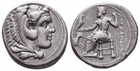 KINGDOM of MACEDON. Alexander III 'the Great', 327-323 BC.AR Drachm. Condition: Very Fine  Weight: 16,77 gram Diameter: 26,5 mm