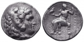 KINGDOM of MACEDON. Alexander III 'the Great', 327-323 BC.AR Tetradrachm.