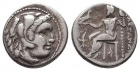 KINGDOM of MACEDON. Alexander III 'the Great', 327-323 BC.AR Drachm. Condition: Very Fine  Weight: 4,12 gram Diameter: 17,5 mm