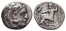 KINGDOM of MACEDON. Alexander III 'the Great', 327-323 BC.AR Drachm. Condition: Very Fine  Weight: 3,91 gram Diameter: 17 mm