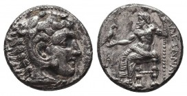 KINGDOM of MACEDON. Alexander III 'the Great', 327-323 BC.AR Drachm. Condition: Very Fine  Weight: 3,76 gram Diameter: 17 mm