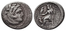 KINGDOM of MACEDON. Alexander III 'the Great', 327-323 BC.AR Drachm. Condition: Very Fine  Weight: 3,97 gram Diameter: 17